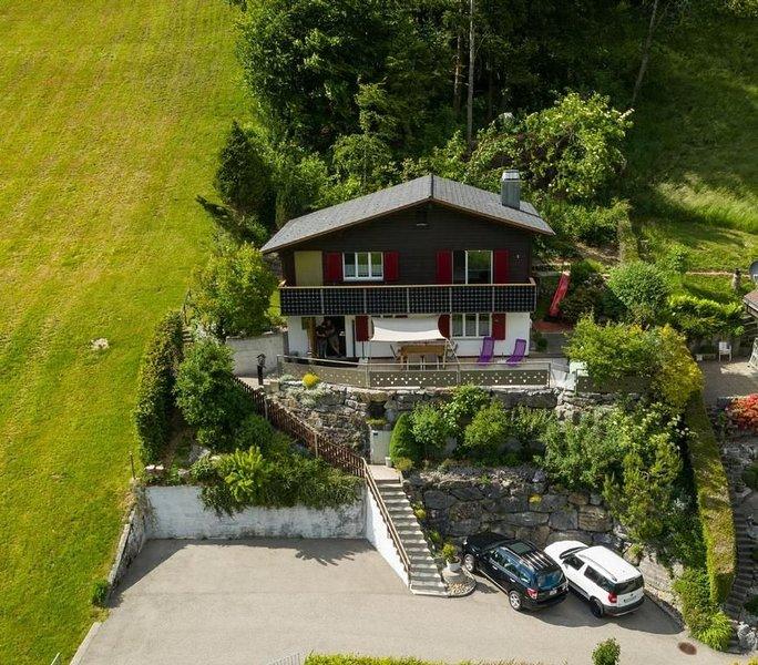 Ferienwohnung Alt St. Johann für 4 Personen mit 2 Schlafzimmern - Ferienwohnung, aluguéis de temporada em Muhlehorn