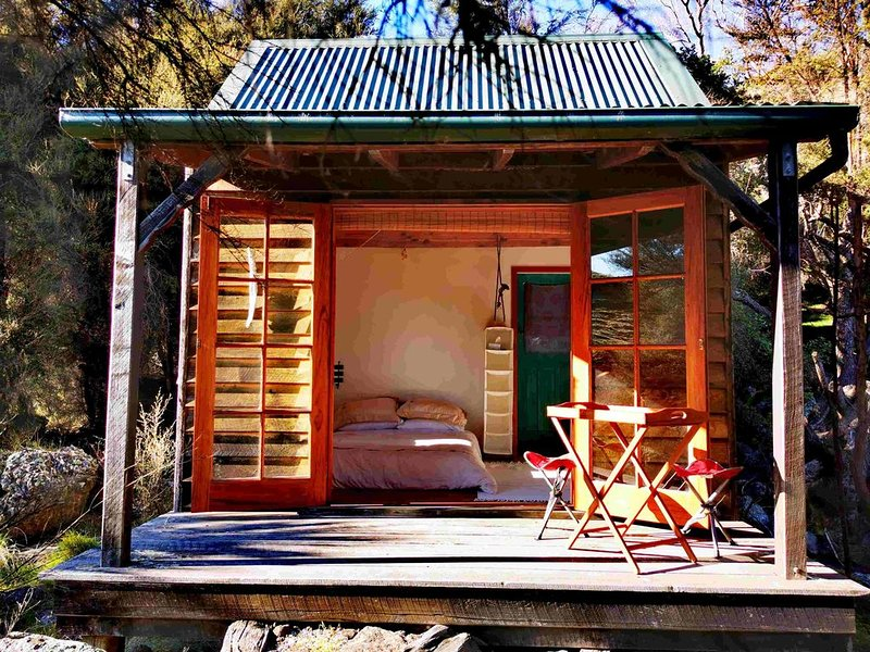 Manaaki Mai Rustic Retreat, holiday rental in Canterbury Region