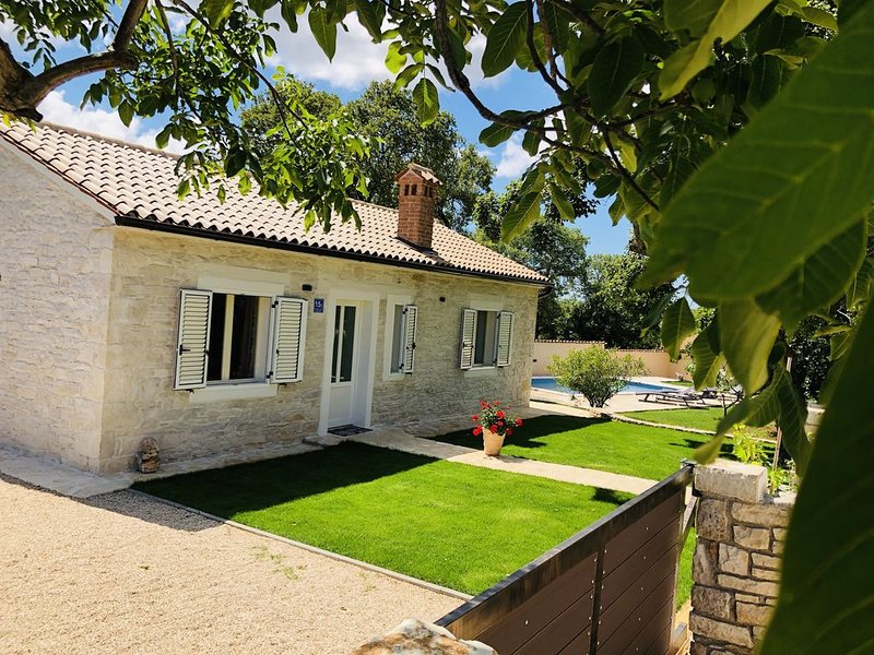 NEW!! VILLA ROY 3 WITH PRIVATE POOL IN CENTRAL ISTRIA - LAST MINUTE, holiday rental in Glavani