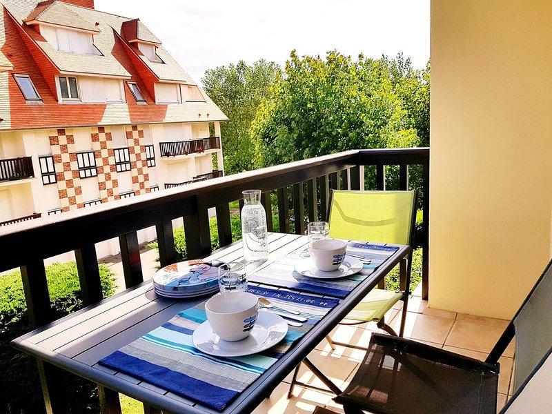 Plage à 350m - Bel appartement cosy-2 chambres-Idéal famille ou entre amis, casa vacanza a Bourgeauville