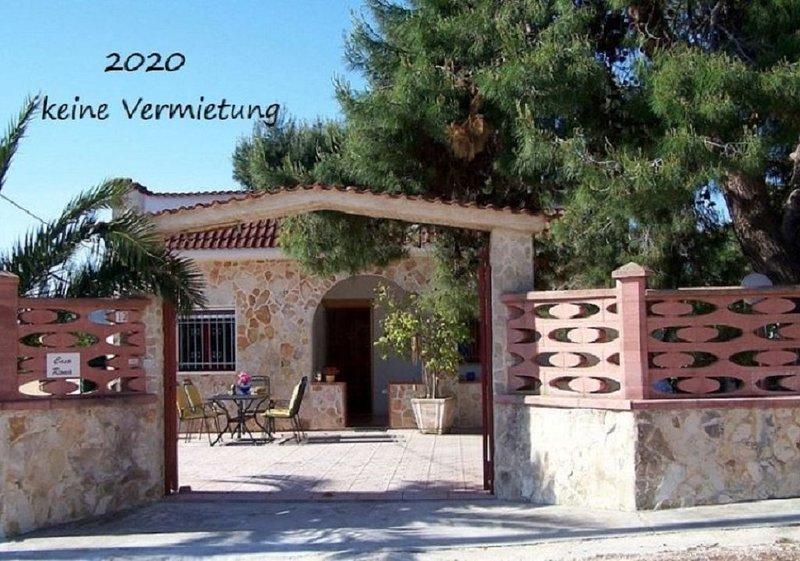 Ferienhaus Casa Roma in Apulien Dachterasse mit Meerblick, holiday rental in Avetrana