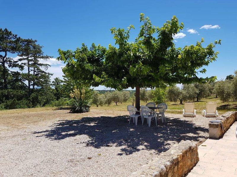 Gorges du Verdon - Authentique cabanon provencal vue magnifique, holiday rental in Alpes-de-Haute-Provence
