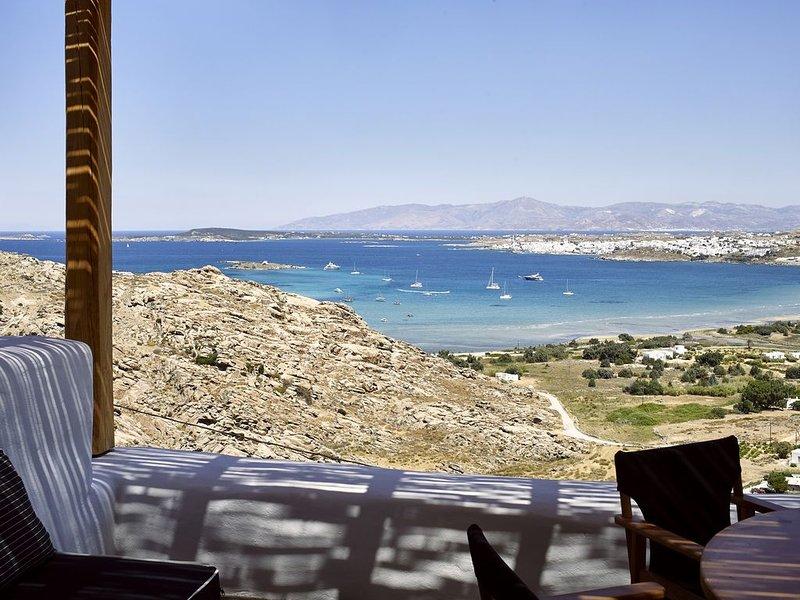 Sky 3 Bedroom Villa Sea View Private Pool, holiday rental in Kolimpithres