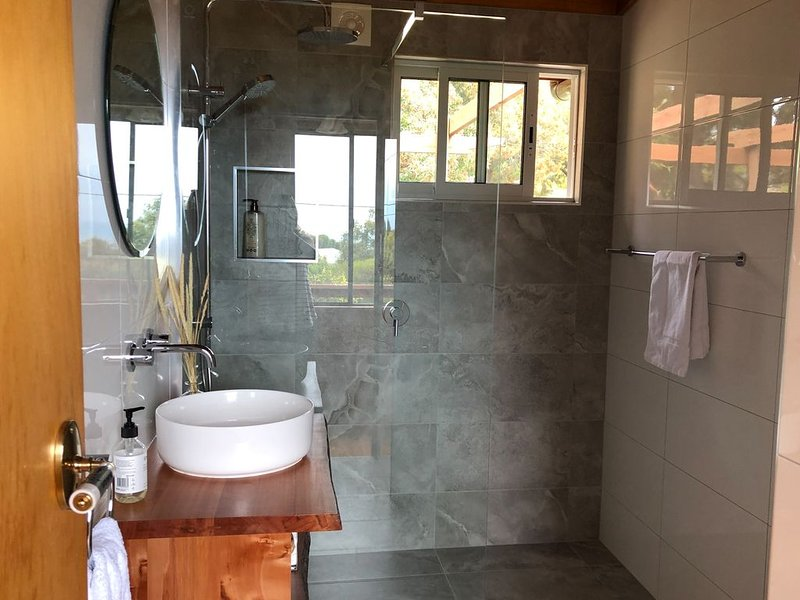 HEXAGON BEACH HOUSE - Great views of the Bay of Fires, holiday rental in St Helens