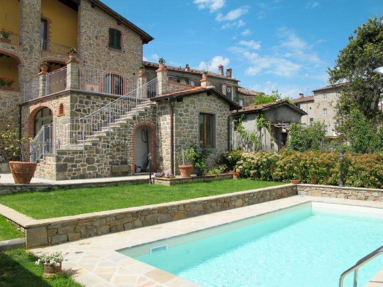 Ferienwohnung Carla (BLU150) in Bagni di Lucca - 6 Personen, 2 Schlafzimmer, vacation rental in Benabbio