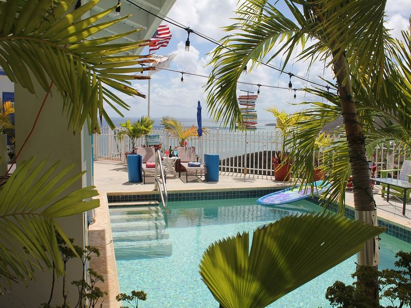 Caribbean Escape sleeps 4 w/ Pool on East End Overlooking  Beautiful Teague Bay, holiday rental in St. Croix