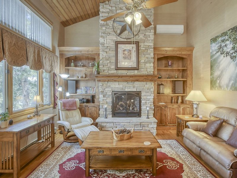 Rustic Mountain Vacation Home in the Trees! 8 Miles from Air Force Academy!, holiday rental in Villa Grove