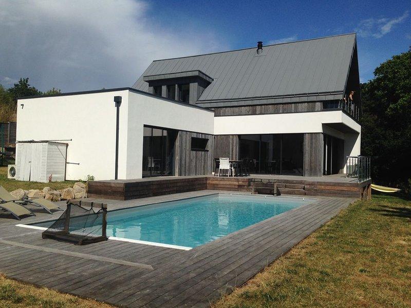 Villa sur les coteaux guérandais, casa vacanza a Guerande