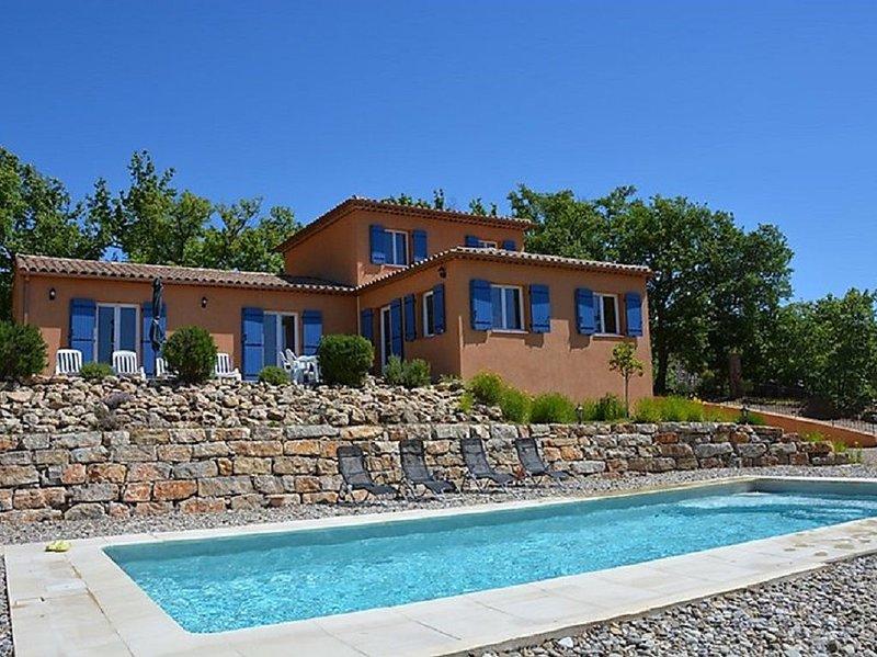 Villa spacieuse avec vue à Tourtour, holiday rental in Tourtour