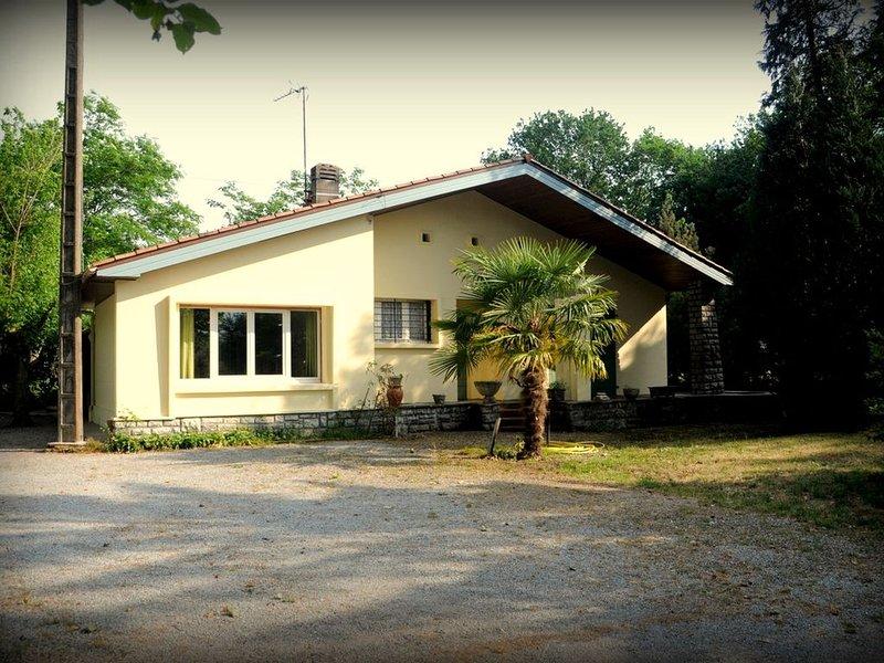 maison  proche océan et lac  Hossegor jardin 1500m2 à Saint Geours de Maremne, location de vacances à Saint-Jean-de-Marsacq