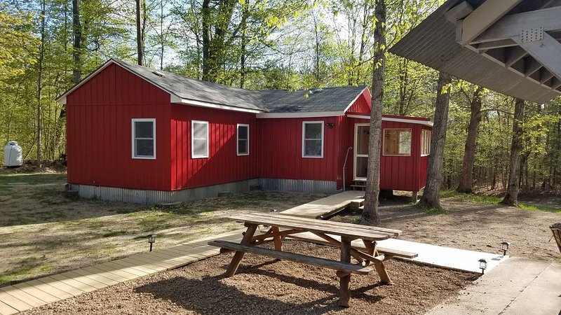 Cozy and peaceful cabin!, holiday rental in Cheboygan County