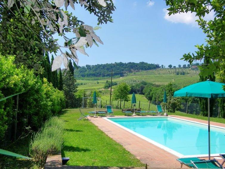 Ferienwohnung Alle Vacche (SGI140) in San Gimignano - 3 Personen, 1 Schlafzimmer, casa vacanza a Pancole