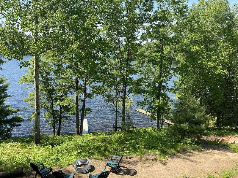 Lake Shishebogama - Minocqua, Wi. - Up North, holiday rental in Hazelhurst