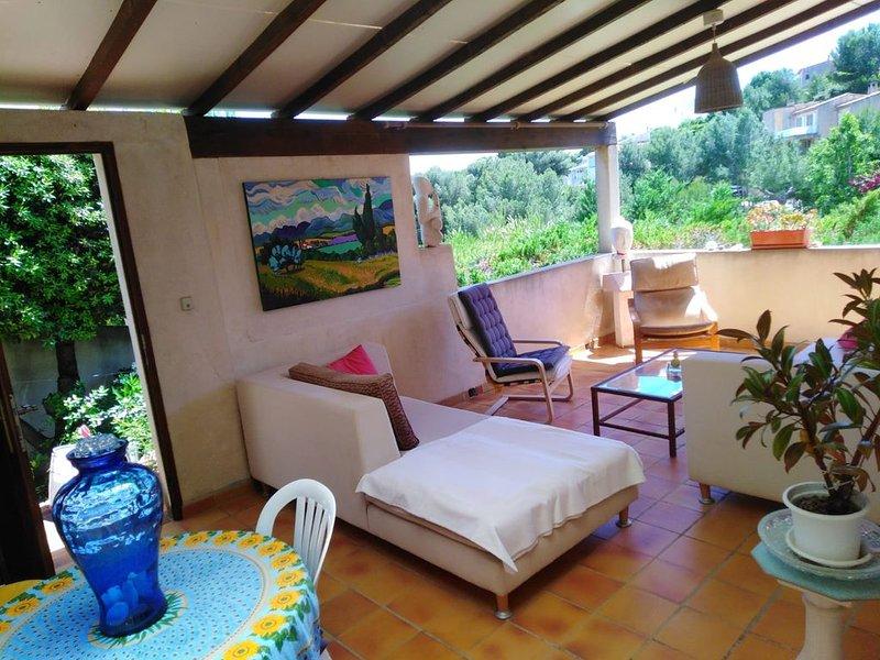 Jolie Maison avec Vue Mer, holiday rental in Carry-le-Rouet