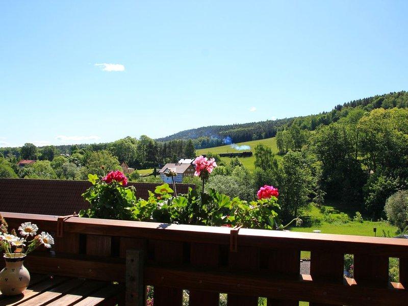 Ruhe, Natur und Ausblick genießen - das können Sie bei uns ganz sicher., holiday rental in Oybin