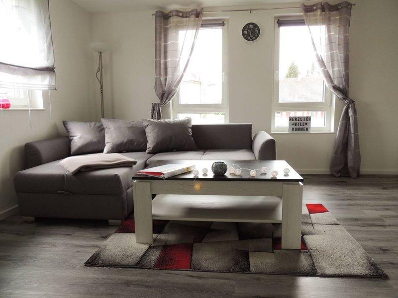 Ferienwohnung, 65qm, Balkon, 2 Schlafzimmer, max. 6 Personen, vacation rental in Bad Saulgau