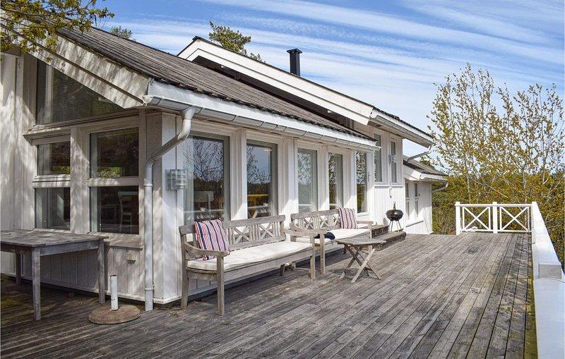 3 Zimmer Unterkunft in Tvedestrand, location de vacances à Froland Verk