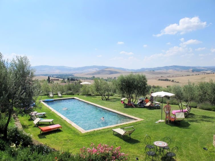 Apartment Agriturismo Grappi  in Monticchiello, Siena and surroundings - 4 pers, vacation rental in Pienza