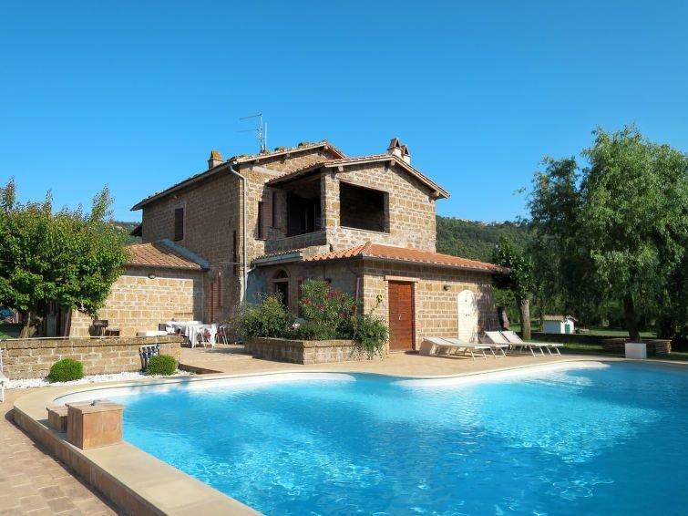 Ferienhaus Casa Domenico (BOL560) in Lago di Bolsena - 6 Personen, 2 Schlafzimme, vacation rental in Capodimonte