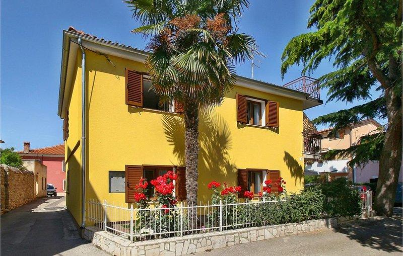 2 Zimmer Unterkunft in Novigrad, alquiler de vacaciones en Novigrad