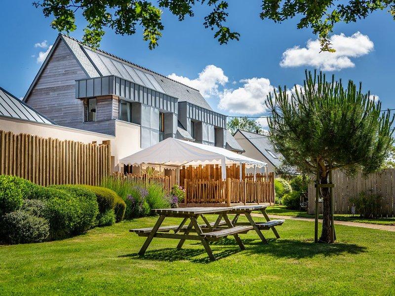 Maison de vacances Ecogite La Petite Presqu'ile sur la Ria d'Etel (56), holiday rental in Landevant