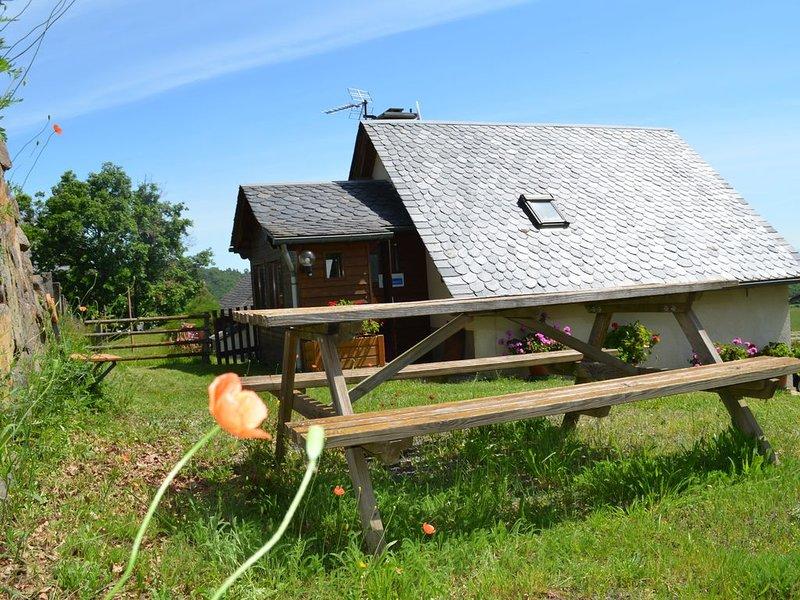 Studio /petite maison située dans le massif Sancy, aluguéis de temporada em Champeix