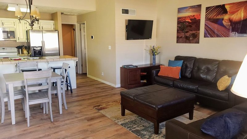 Newly Renovated One Bedroom One Bath Full Kitchen--Pool And Clubhouse Access, vacation rental in St. George