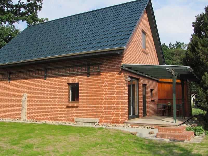 Des Försters Ferienhaus - Haus Reh, aluguéis de temporada em Parchim