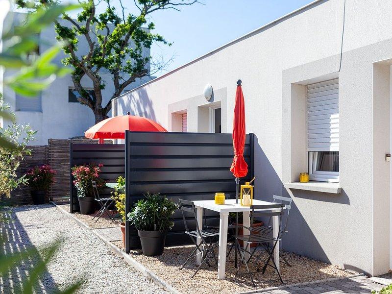Maison dans résidence à 500m de la mer proche La Baule pour famille 1 à 4 pers, location de vacances à Saint-Nazaire
