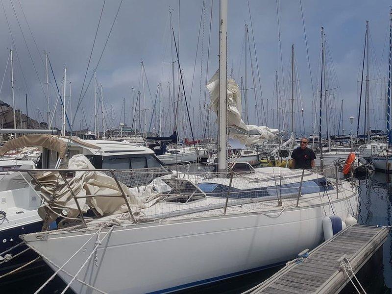 Voilier, port de Frioul, vue sur la rade de Marseille, 4 personnes, casa vacanza a Marsiglia