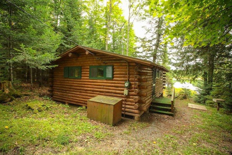 Bear Cabin, location de vacances à Iron River