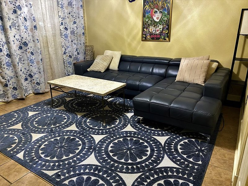 Cool and Eclectic Condo in, Perfect Downtown Spot minutes to LSU, holiday rental in Baton Rouge