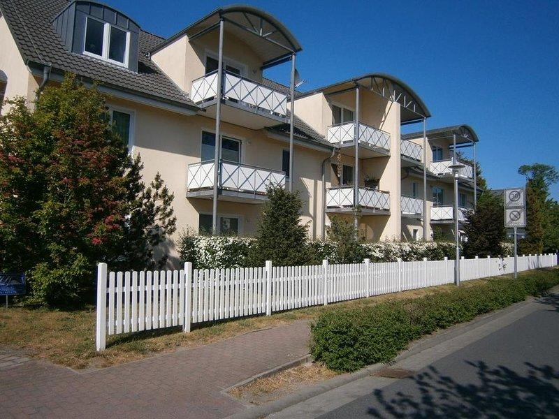 Wohnung 4 im EG Haus Stranddistel, komfortable Ferienwohnung für 4 Personen in Z, casa vacanza a Bresewitz