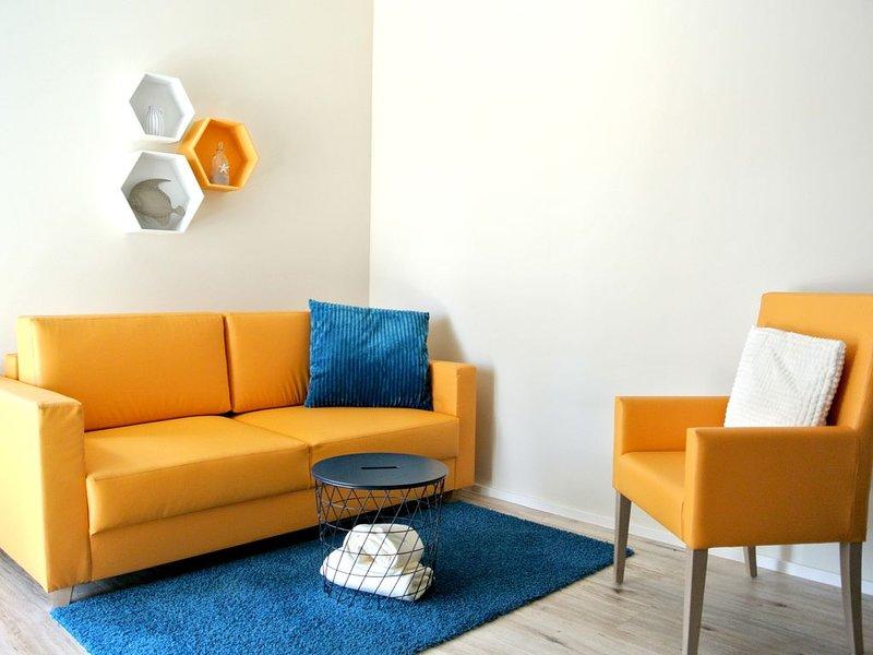 Komfort Apartment in toller Lage am Bernsteinsee, casa vacanza a Steinhorst