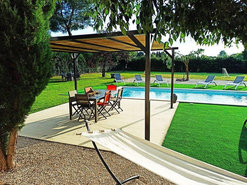 Villa Crousadou, 5 Chambres et piscine, à Saint Rémy de Provence, proche Arles, aluguéis de temporada em Saint-Remy-de-Provence