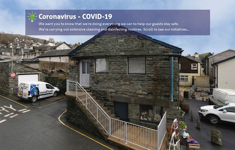 The Sorting Office - Spacious Modern Home with parking in Central Ambleside, vacation rental in Rydal