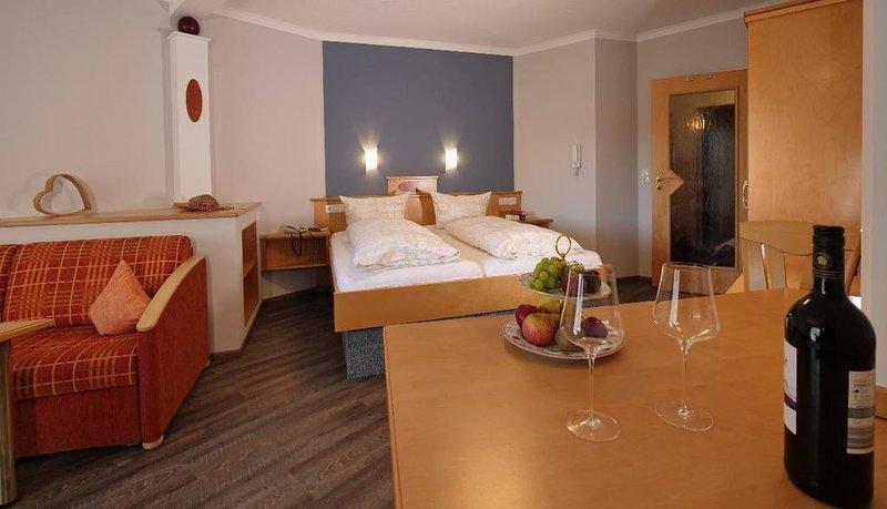 Neues ein Raum Appartement mit seperater Küche in Bad Füssing, holiday rental in Bad Fussing