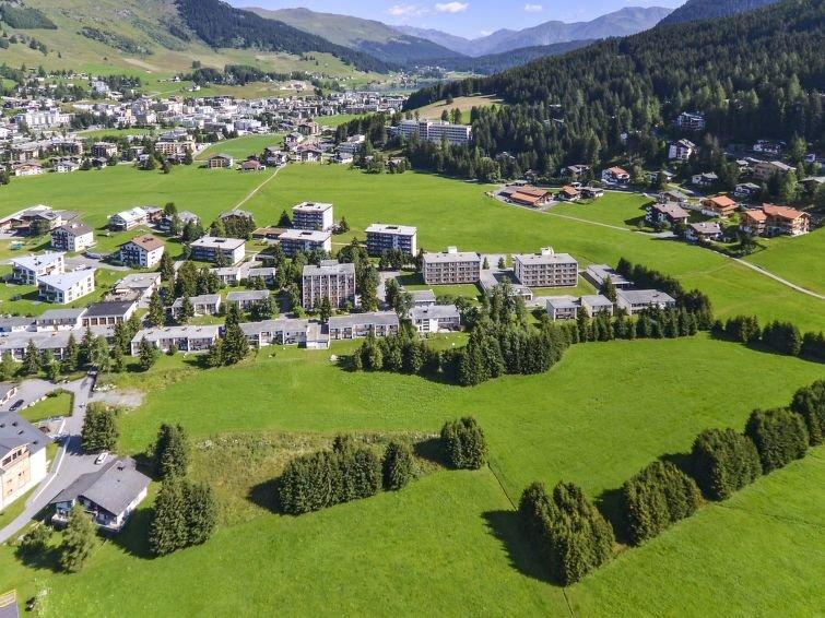 Ferienwohnung Komfort Studio (DAS100) in Davos - 2 Personen, 1 Schlafzimmer, alquiler vacacional en Grisons