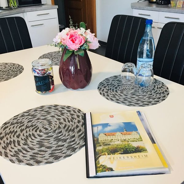 Ferienwohnung an der romantischen Straße in Weikersheim, holiday rental in Niederstetten