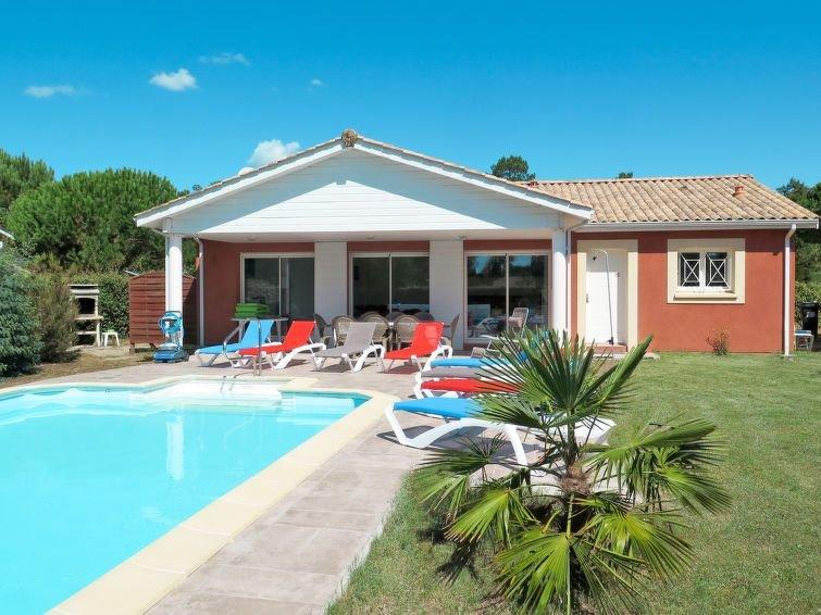 Ferienhaus Les Acacias (MVT245) in Montalivet - 8 Personen, 3 Schlafzimmer, alquiler de vacaciones en Montalivet