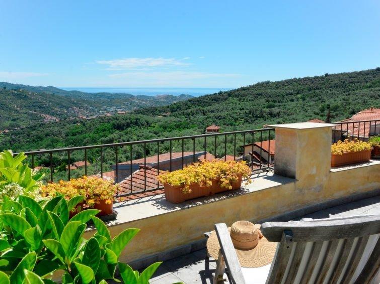 Vacation home Casa Bella Vista  in Dolcedo - Bellissimi, Liguria: Riviera Ponen, holiday rental in Lecchiore