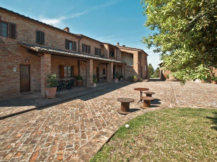 Ferienhaus Mezzavia - Salvia (SIA241) in Siena - 6 Personen, 3 Schlafzimmer, casa vacanza a Asciano