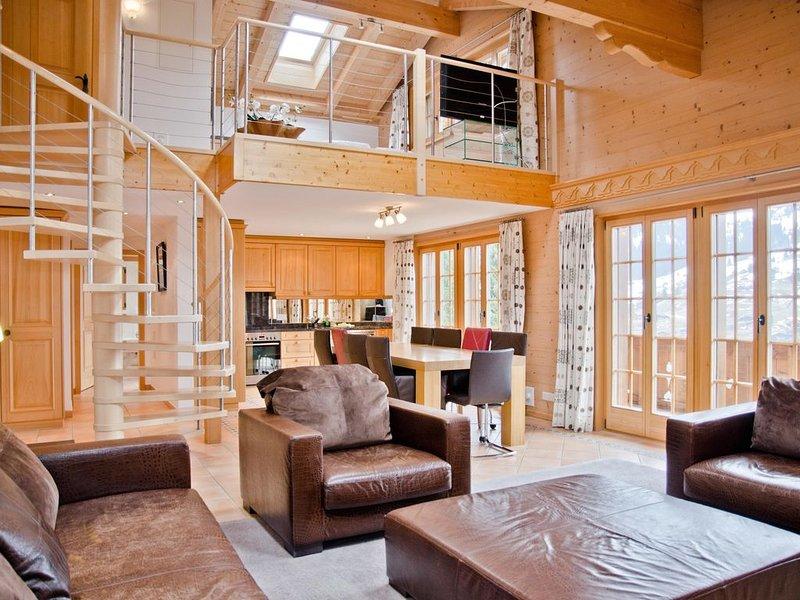Ferienwohnung Grindelwald für 8 - 10 Personen mit 4 Schlafzimmern - Mehrstöckige, holiday rental in Grindelwald