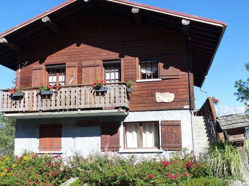Face au Mont Blanc et toute la chaîne, holiday rental in Combloux