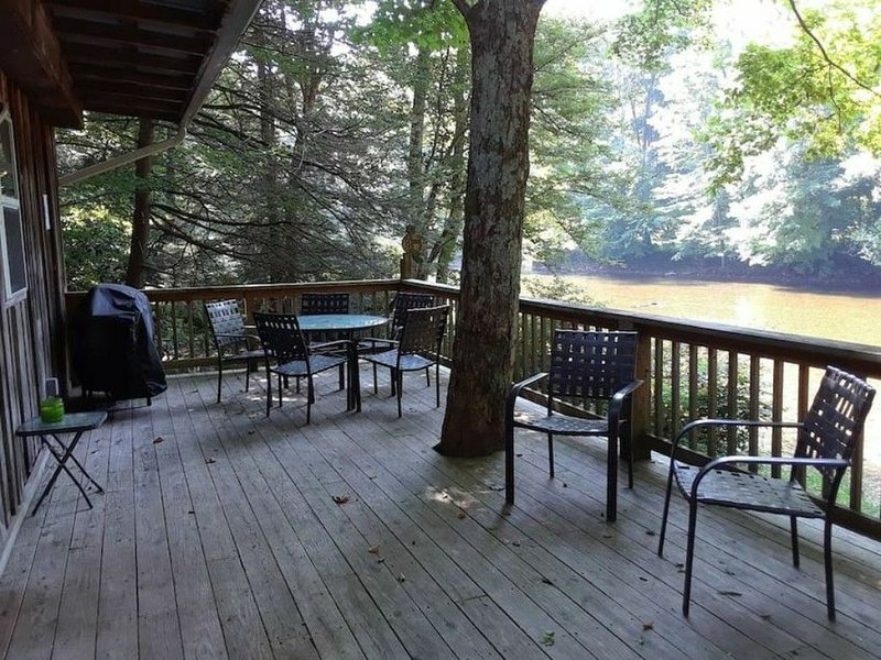 Quaint Little Cabin on the River, vacation rental in Elkins