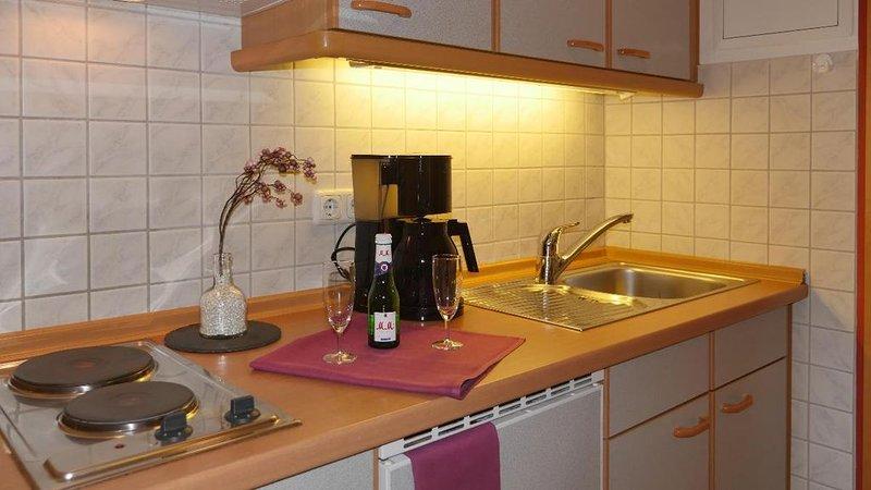 Freundlich eigerichtete Suite mit Kochnische und WLAN im Bayerischen Bäderdreiec, holiday rental in Bad Fussing