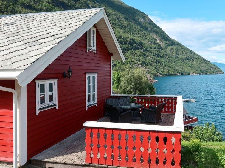 Ferienhaus Johans Maria stova (FJS606) in Arnafjord - 4 Personen, 3 Schlafzimmer, holiday rental in Nese