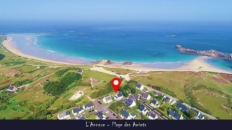 L'Annexe de la plage des Amiets, holiday rental in Cleder