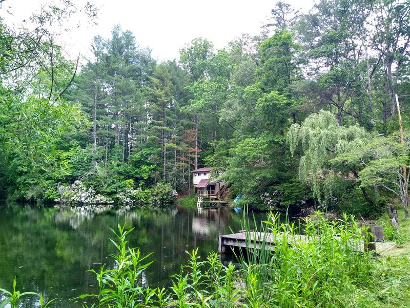 Little House on the Pond., vacation rental in Rosman
