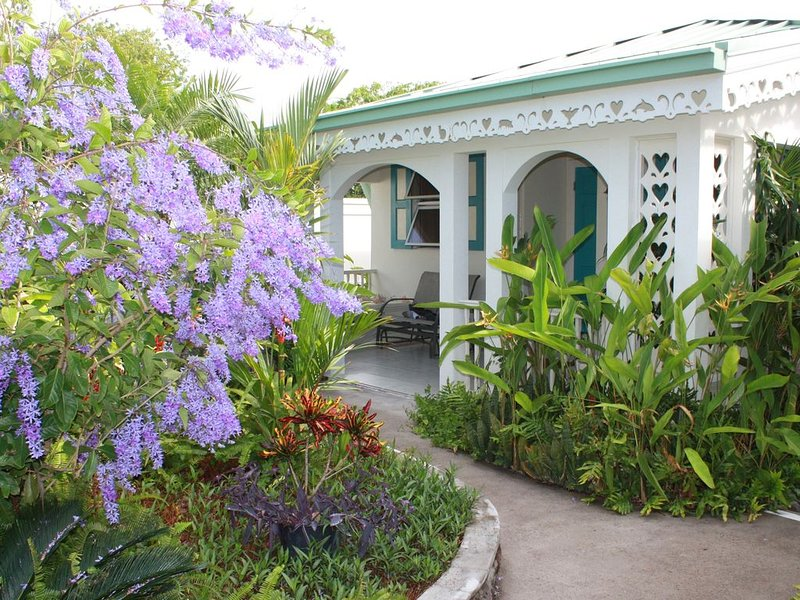 Storybook Cottage - Private pool - jeep included, vacation rental in Turtle Beach